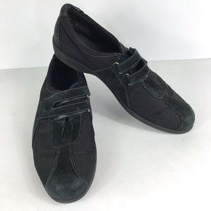 Munro 9.5 Narrow shoes sport black flats women's